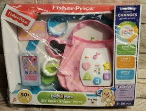NIB FISHER PRICE LAUGH & LEARN SIS' SMART STAGES PURSE 50+  SING ALONG SONGS ++