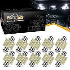 "10PCS 1.25"" Festoon 10-30V White 3021 3022 3175 LED Interior Dome Map Light Bulb"