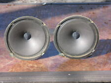 """Set of 8 ohm Vintage 8"""" Miida Woofers and Tweeters in very Good Condition!"""