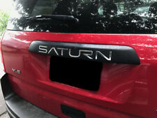 Saturn VUE 2002 2003 2004 2005 20006 2007 Tailgate Letters Inserts ABS Plastic