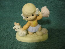 """Precious Moments Figurine/1997/""""It 39;s Ruff to always be Cheery"""" (item# S389)"""