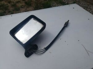 VW Rabbit pickup passenger side mirror and cable original part # 192357502A BCDE