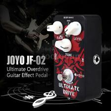 JOYO JF-02 Ultimate Drive Overdrive Guitar Effect Pedal for GUITAR LOVERS