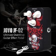JOYO JF-02 Ultimate Drive Overdrive Guitar Effect Pedal W4V1