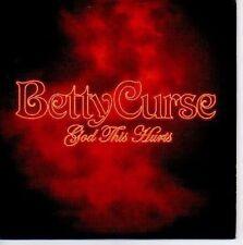 (N516) Betty Curse, God This Hurts - DJ CD