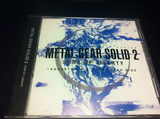 0389 METAL GEAR SOLID 2 -SONS OF LIBERTY ORIGINAL SOUNDTRACK CD MICA New Music