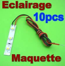 B834# Eclairage maquette  LED ruban souple Blanc chaud *Jouef