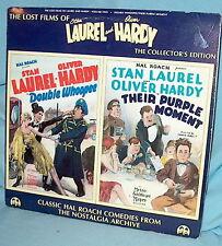 LD laserdisc LOST FILMS  LAUREL & HARDY Volume 2 Two