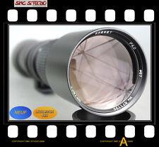 OBJECTIF 500mm pour REFLEX SONY ALPHA A200 A100 SLT-A99 SLT-A77 SLT-A65
