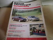 RTA 556 de 1993: AUDI 80 depuis 1992 4 cylindres essence Evolution 80 diesel