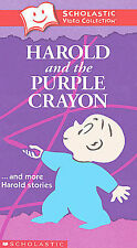 Harold and the Purple Crayon and More Harold Stories VHS Tape New  FREE Shipping