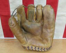 Vintage 50s Draper Maynard D&M Leather Baseball Glove Mitt HOF Hank Aaron DG425
