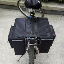 Waterproof Bicycle Pannier Bags MTB Bike Rear Rack Carrier Seat Box Saddle Carry