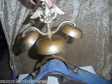 23922 altes Pferdegeläut Schellenbaum Glockengeläut Lyra Reichsadler Band 40cm