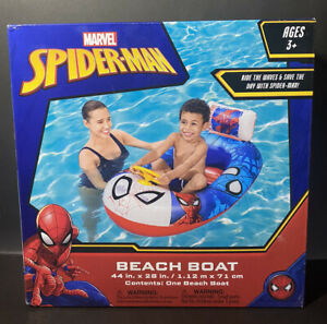 Marvel Spider-Man Beach Boat Pool Float - Ages 3+ - NEW IN BOX! NRFB!