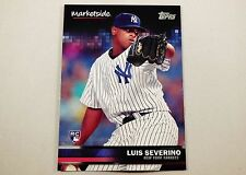 2016 Topps Wal-Mart Marketplace Baseball Card Luis Severino New York Yankees