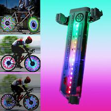 New Bicycle Motorcycle Bike Tyre Tire Wheel Lights 36 LED Flash Spoke Light Lamp