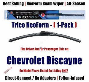 Super Premium NeoForm Wiper Blade (Qty 1) fits 1970 Chevrolet Biscayne 16160