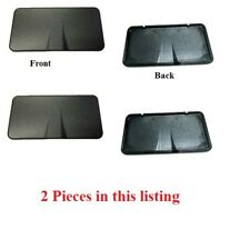 2 X New Sun Visor Vanity Mirror Cover Replacement Lid For Corvette C6