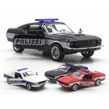Mustang GT Police Cars ,Fire Engine 1/34 Scale Diecast Alloy Model for Kids