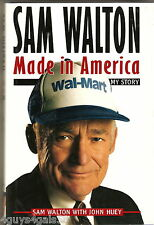 Sam Walton and Wal-Mart by Sam Walton (1992, Hardcover) 1ST EDITION Collectible