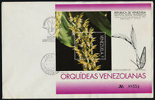 Venezuela 1519 on FDC - Flowers, Orchids