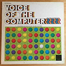 """VOICE OF THE COMPUTER"" electronic LP DECCA orig '70 promo RARE ~ EXCELLENT!"