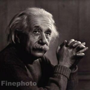 1948/83 Vintage ALBERT EINSTEIN Science Physics Photo Art By YOUSUF KARSH 11x14