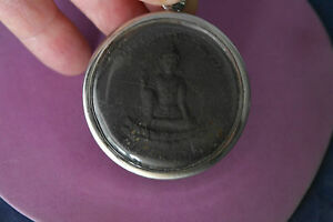 Pendant With Buddism Religion Symbols 49 Gr. 5.5 Cm Wide In Gift Box