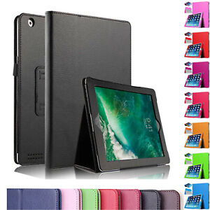 """Leather Flip Smart Stand Case Cover For Apple iPad Air1,Air2 9.7"""",10.2"""" 7th/8th"""