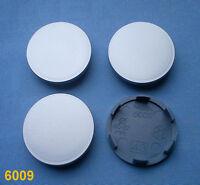 4x Nabenkappen Nabendeckel Felgendeckel 60,0 mm  56,0 mm für Alufelgen 6009