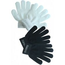 Knitted Protective Gloves Figure Skating - Black