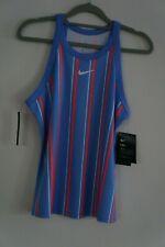 Nike Court Damen Tennis Top Shirt Streifen Gr. S Tank Top - NEU - NP 39,95