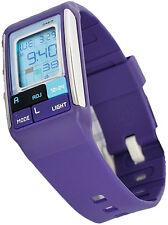 Casio LDF52-6A Ladies PopTone Purple Fashion Watch Sports Alarm Chronograph New