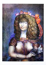 Ernst Fuchs - Lolita - handsigniert