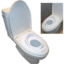 New Smart Toilet Seat Cover For Children Baby Safety Gear BPA Free White