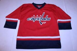 Youth Washington Capitals L (10/12) Jersey (Red) NHL