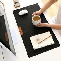 Simple Warm Office Table Computer Mouse Pad Desk Keyboard Game Mouse Mat Black