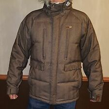 ☀New☀FourSquare 15K Snowboard Ski Jacket Coat Insulated Down Parka Hood Mens M