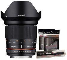 Samyang 20mm F1.8 ED AS UMC Wide Angle Full Frame Lens for Sony E mount ILCE