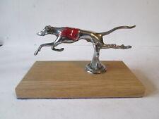 Desmo Greyhound no 1 car mascot.Hood ornament.bonnet mascot.car mascot.