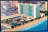 Vintage Postcard Florida Miami Beach Carillon Oceanfront 1970s