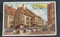 Vintage Gruss Vom Hofbrauhaus Munchen Postcard (Unposted)