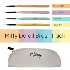 Nail Art Detail Brush Pack by Mitty