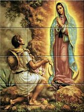 Ceramic Decorative Tile Mural Virgen de Guadalupe 18 X 24 inches