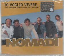 I NOMADI IO VOGLIO VIVERE CD SINGOLO cds SIGILLATO!!!