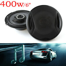 2 pieces Universal 6 Inch 400W Auto Audio Music Stereo Max Car Coaxial Speakers