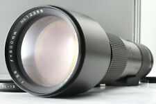 【EXC】Mamiya Sekor C 500mm F/5.6 MF Lens for 645 W/ HARD CASE From JAPAN #114