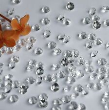 3000pcs  color clear 4.5MM  Diamond Confetti Wedding Table Scatter Crystals