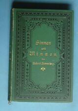 160681 - Sinnen und Minnen - Gesammelte kleinere Dichtungen - Gebundene Ausgabe